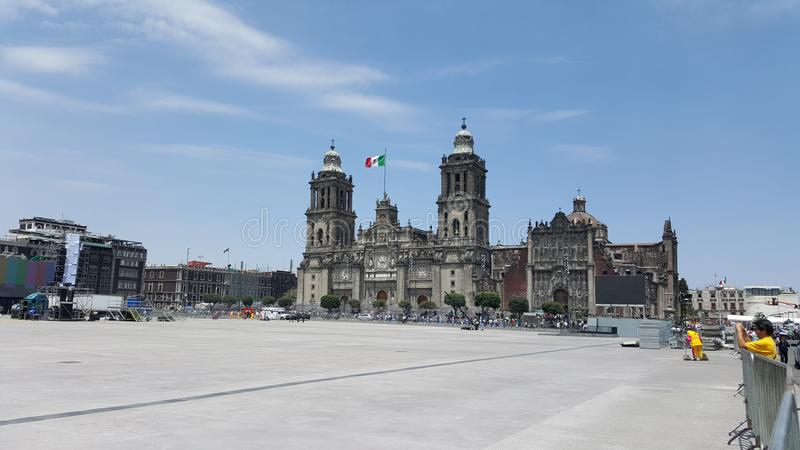 Catedral fotografia stock