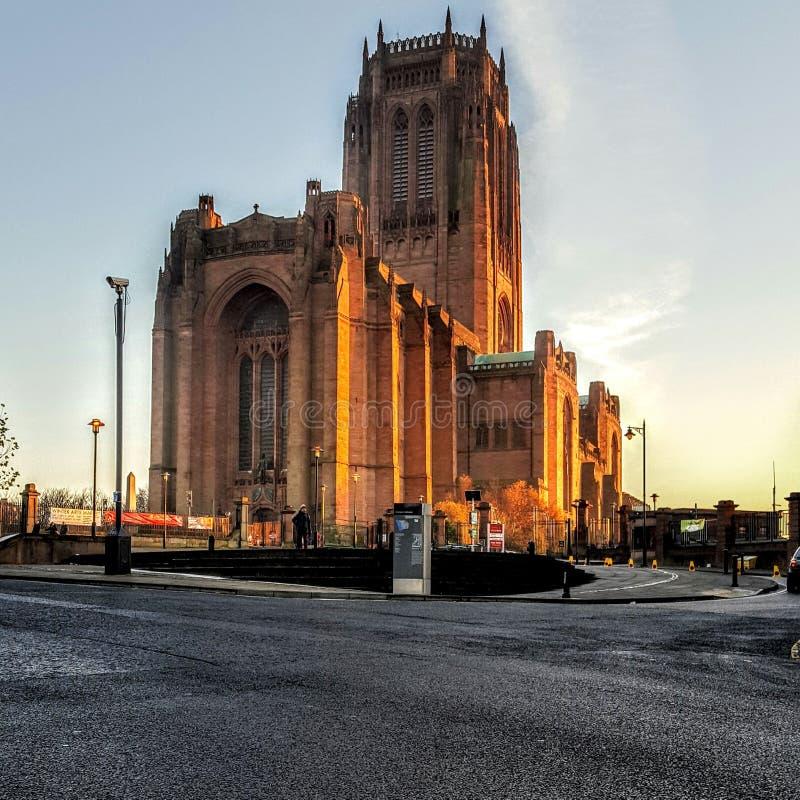 Catedral anglicana fotografia de stock