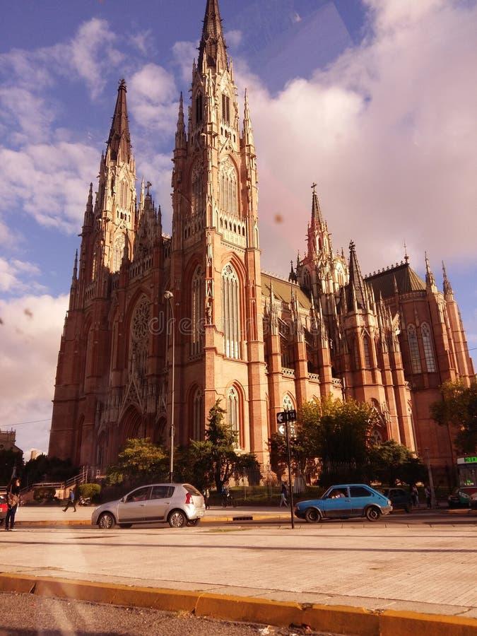 Catedral Argentina foto Cielo fotografering för bildbyråer