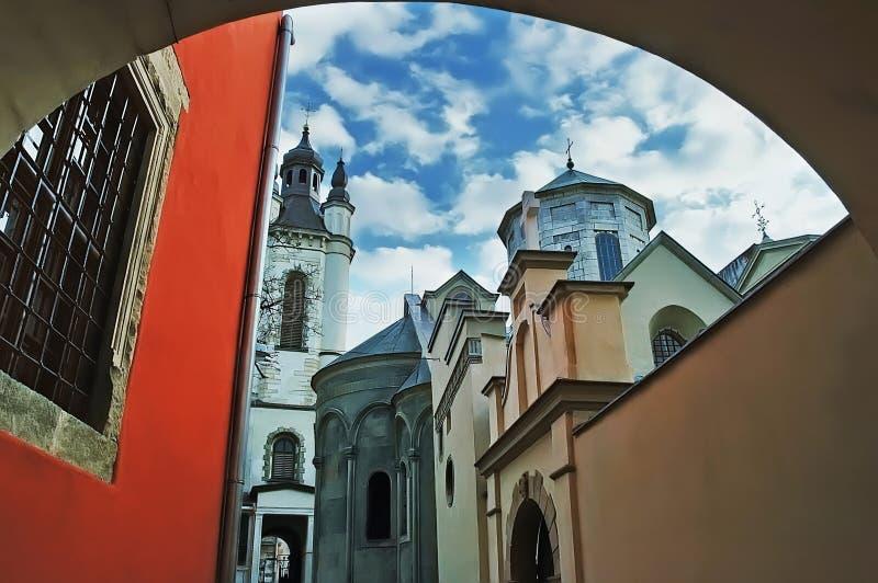 Catedral armenia fotografía de archivo