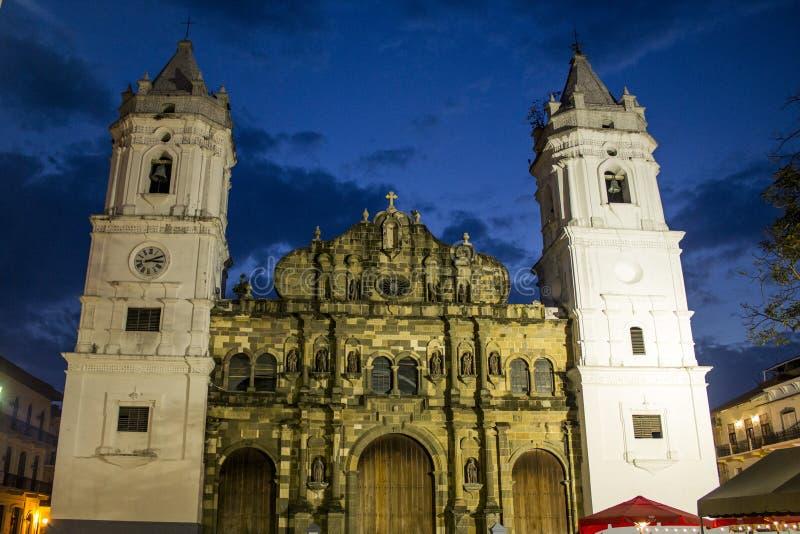 Catedral av Panama royaltyfria bilder