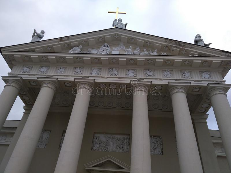 Catedral av Vilnius fotografering för bildbyråer