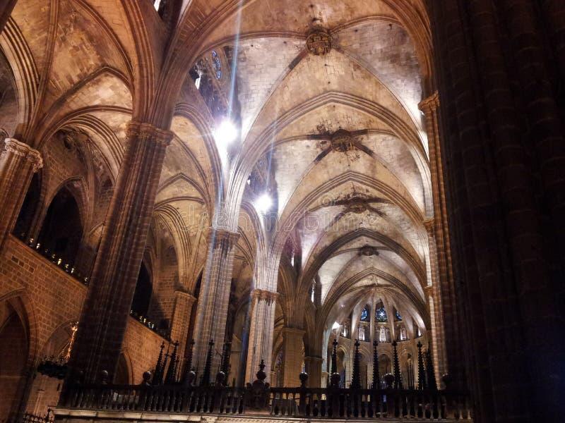 Catedral Barcelona fotografía de archivo