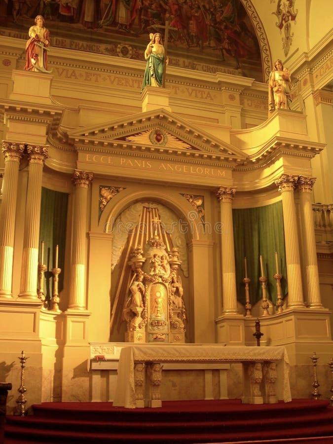 Catedral-basílica del Saint Louis, New Orleans Luisiana fotos de archivo libres de regalías