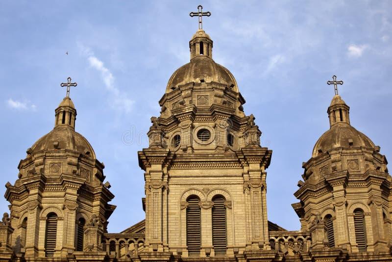 Catedral Beijing do St. Joseph Wangfujing fotografia de stock