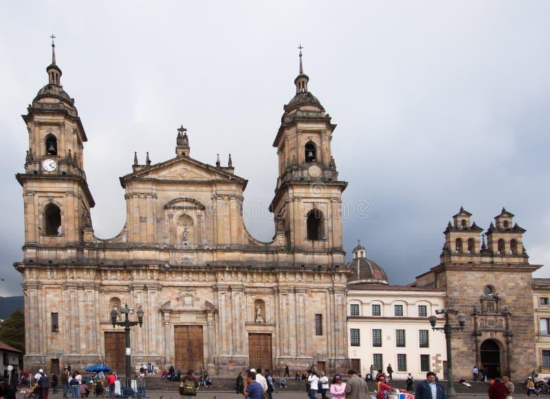 Catedral Bogotá de Primada imagem de stock