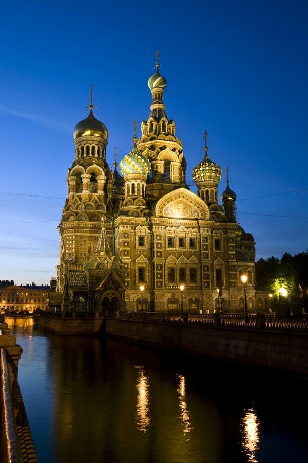 Download Catedral De Christ O Salvador Em St Petersburg, Rússia Foto de Stock - Imagem de sangue, noites: 29838986