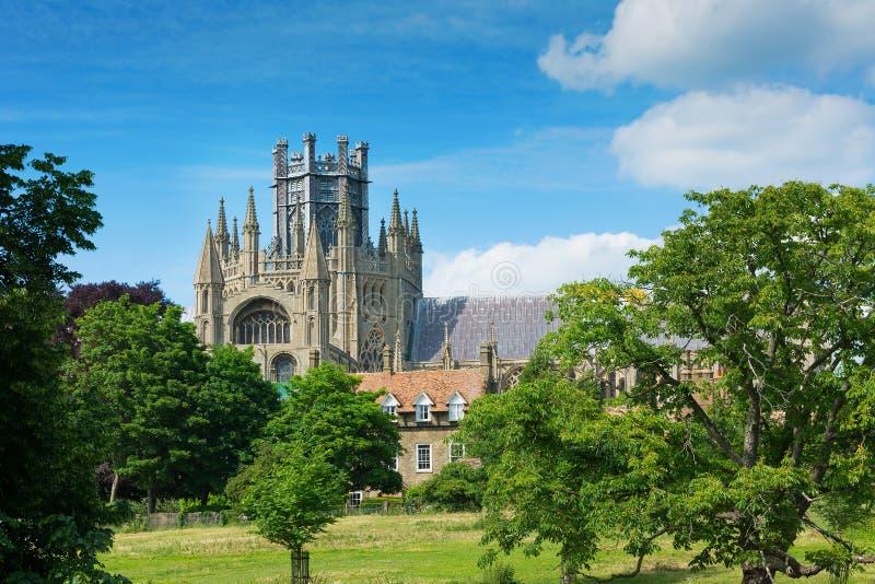 Catedral Cambridgeshire Inglaterra de Ely foto de stock royalty free