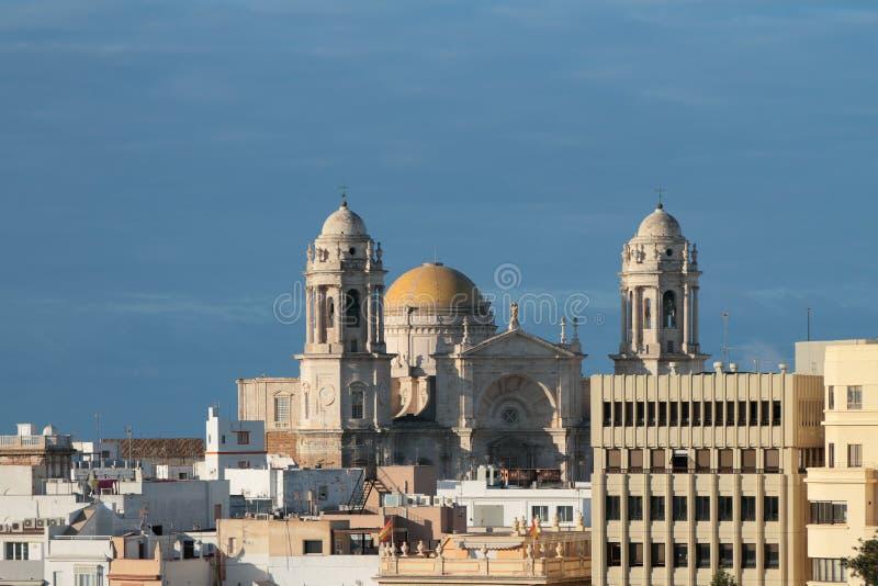 Catedral Catedral de Santa Cruz Cádiz, España foto de archivo