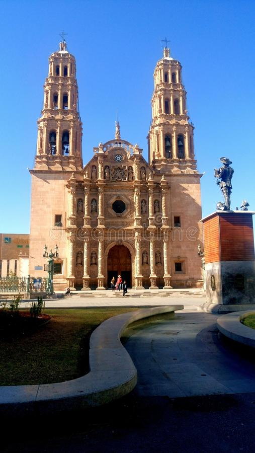Catedral chihuahua obraz stock