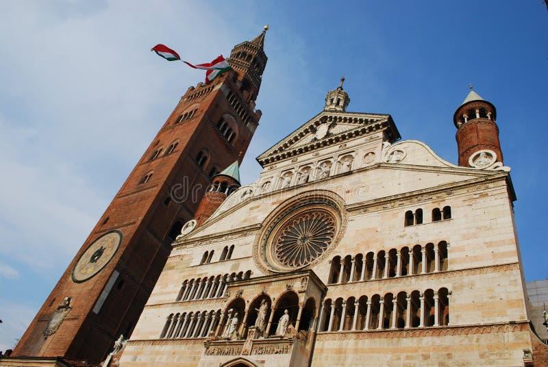 Catedral, Crémona fotos de archivo libres de regalías