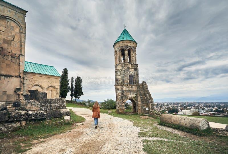 Catedral cristiana en Georgia imágenes de archivo libres de regalías