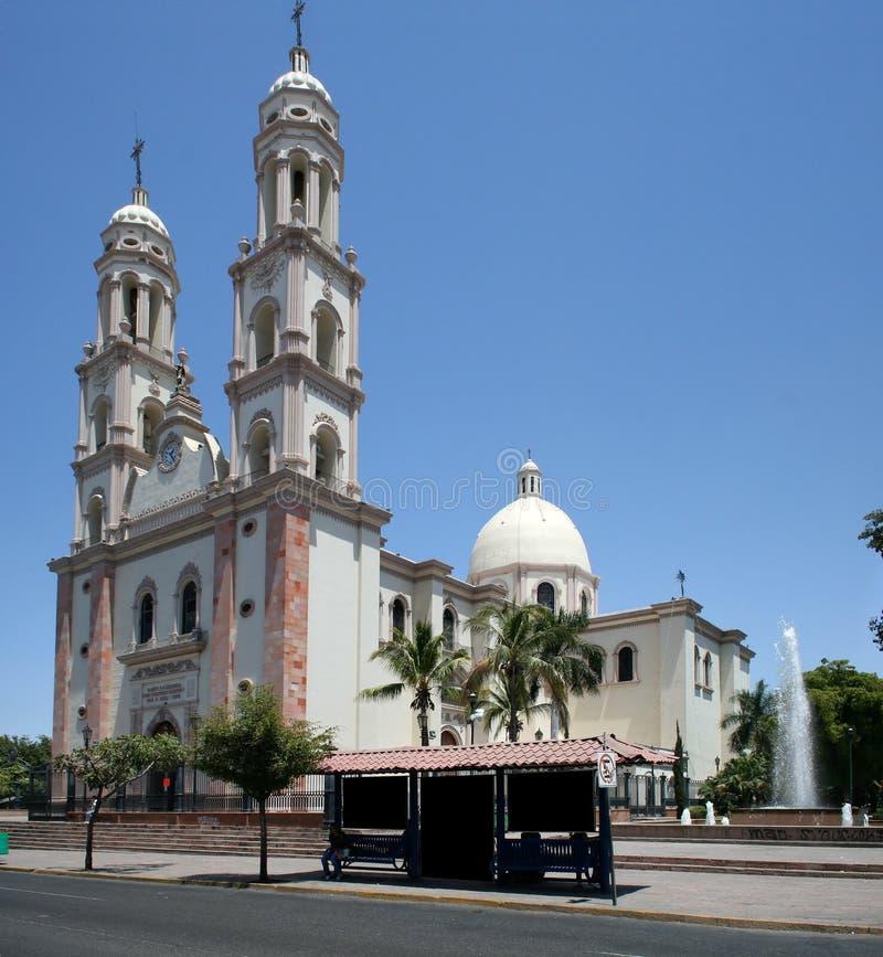 catedral culiacan de στοκ εικόνες