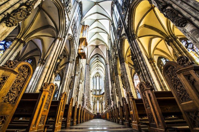 Catedral da água de Colônia imagem de stock