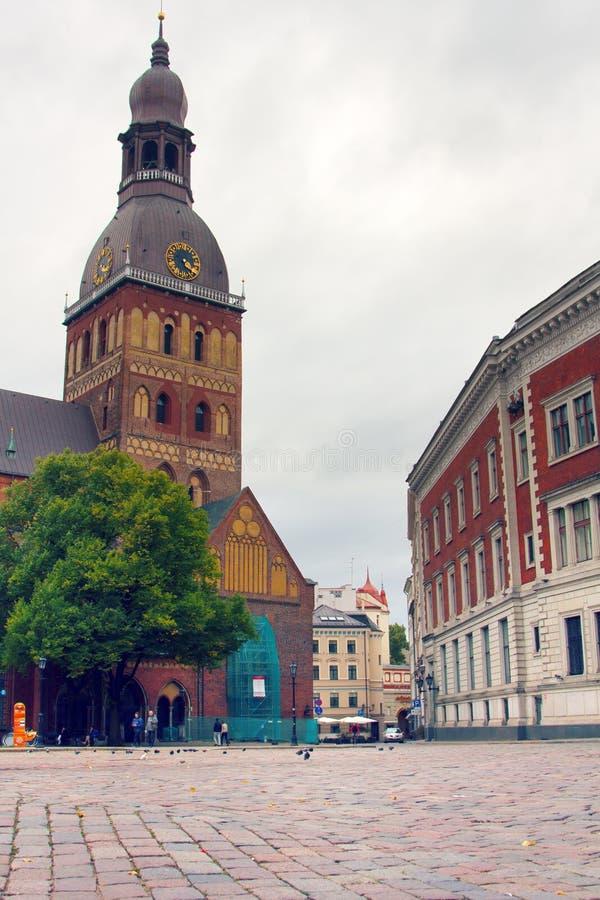 Catedral da abóbada em Riga imagem de stock