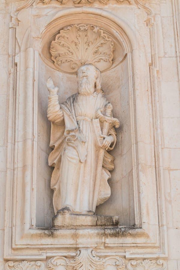 Catedral da basílica de Martina Franca Puglia Italy foto de stock royalty free