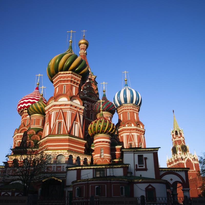 Catedral da manjericão de Saint imagens de stock royalty free