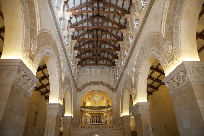 Catedral da montanha de Tabor fotos de stock royalty free