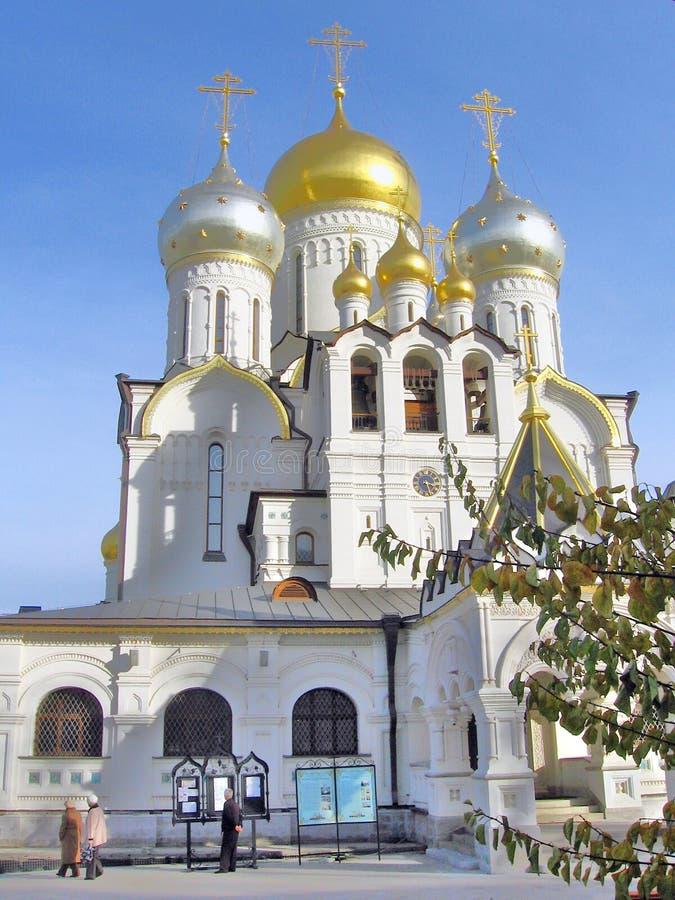 Catedral da natividade da Virgem Maria abençoada imagem de stock