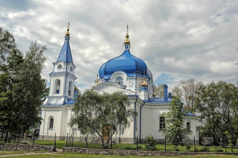 Catedral da natividade da Virgem Maria abençoada imagens de stock