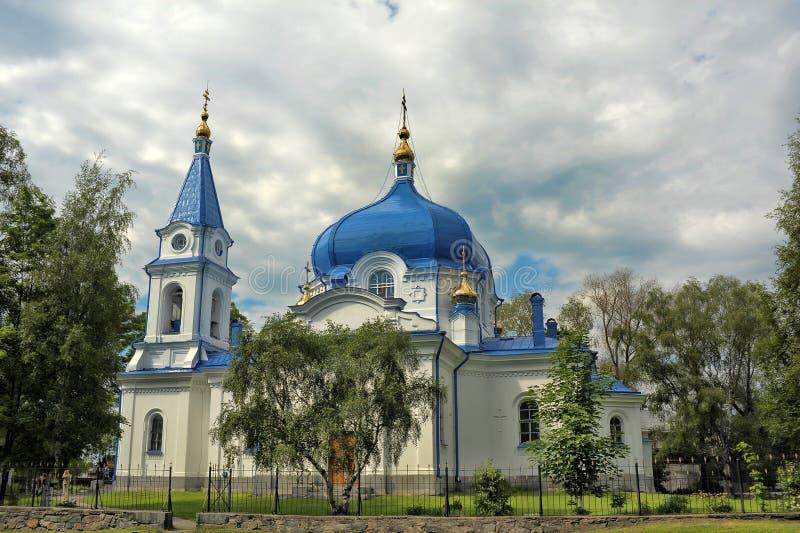 Catedral da natividade da Virgem Maria abençoada foto de stock