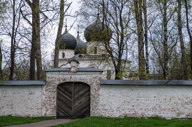 Catedral da natividade da Virgem Maria abençoada em Antoniev imagem de stock royalty free
