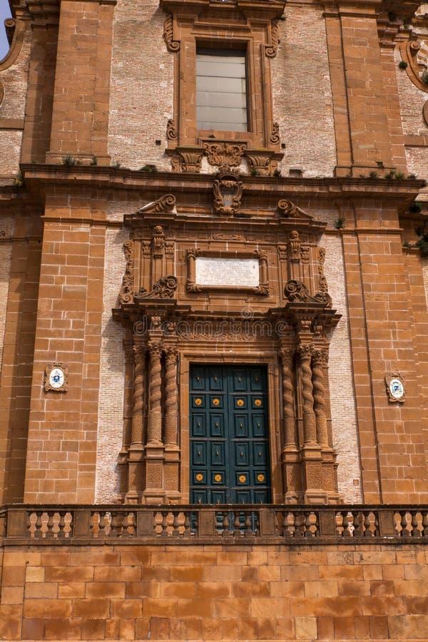 Catedral da pra?a Armerina fotos de stock royalty free