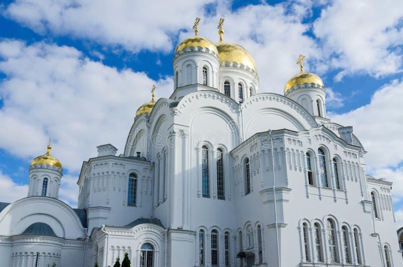 Catedral da transfiguração do salvador, Diveevo, Rússia fotografia de stock royalty free