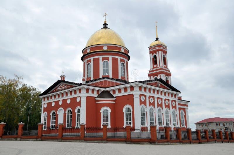 Catedral da trindade no Birsk imagens de stock