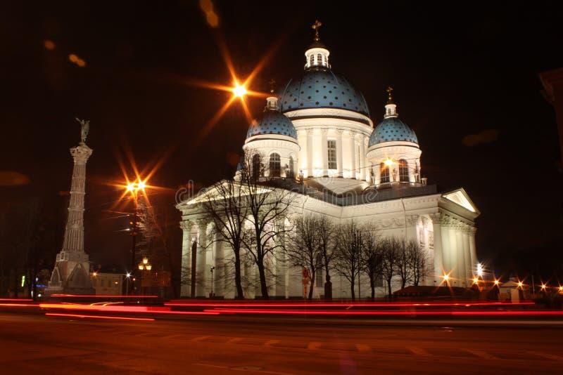 Catedral da trindade, St Petersburg (St Petersburg) foto de stock