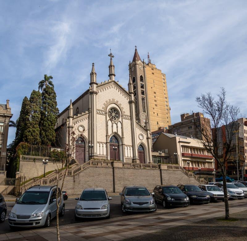 Catedral de Ávila del ` de Santa Teresa D - Caxias hace Sul, Río Grande del Sur, el Brasil foto de archivo