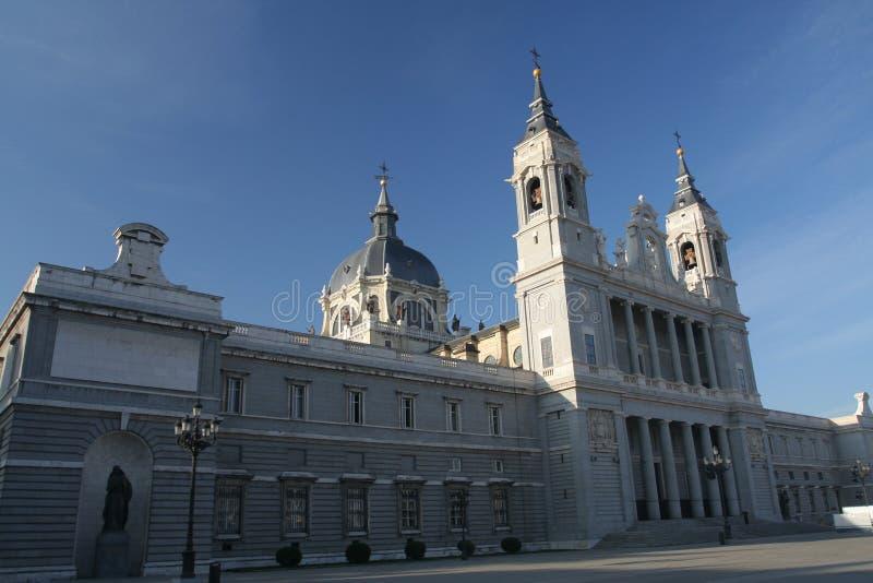 catedral de Λα almudena στοκ εικόνα