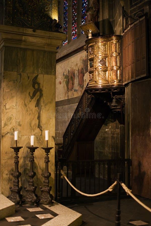 Catedral de Aix-la-Chapelle imagens de stock royalty free