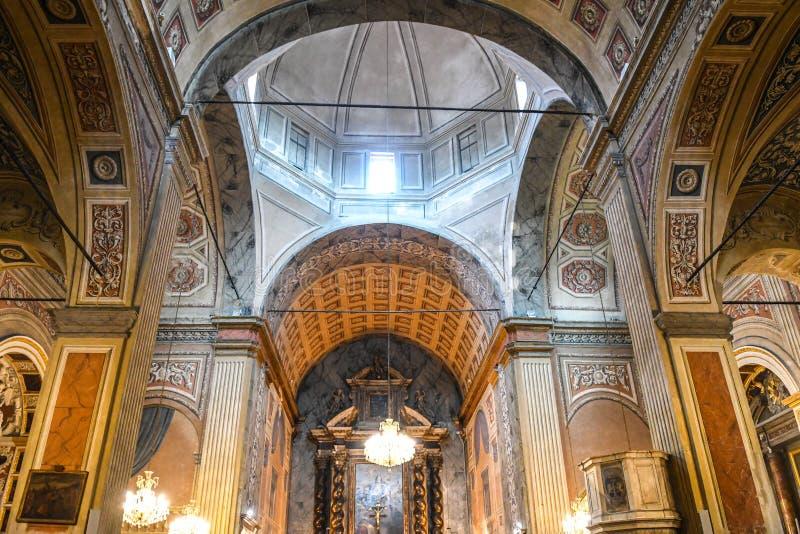Catedral de Ajácio fotos de stock royalty free