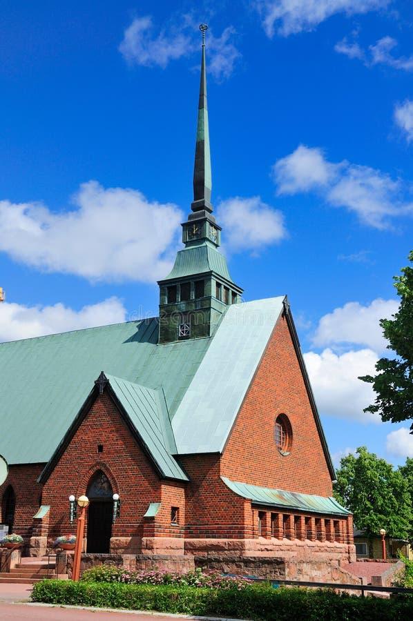 Catedral de Aland, Finlandia imagem de stock