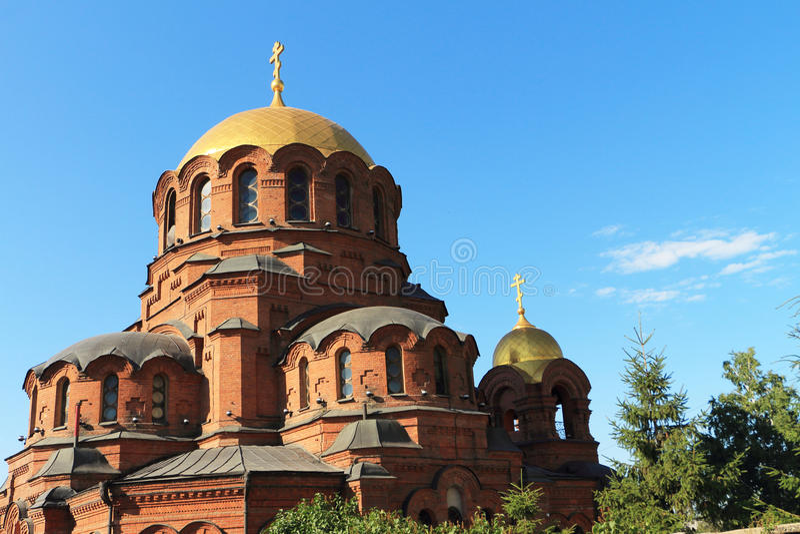 Catedral de Alexander Nevski foto de stock royalty free