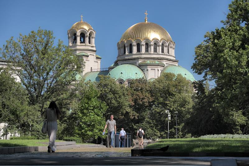 Catedral de Alexander Nevsky imagen de archivo