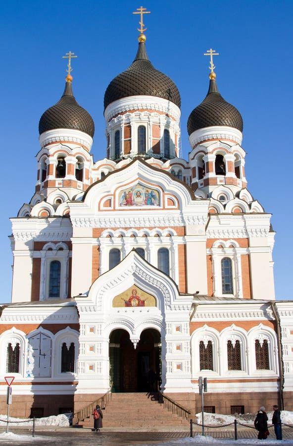 Catedral de Alexander Nevsky imagens de stock royalty free