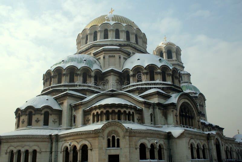 Catedral de Alexander Nevsky fotografia de stock