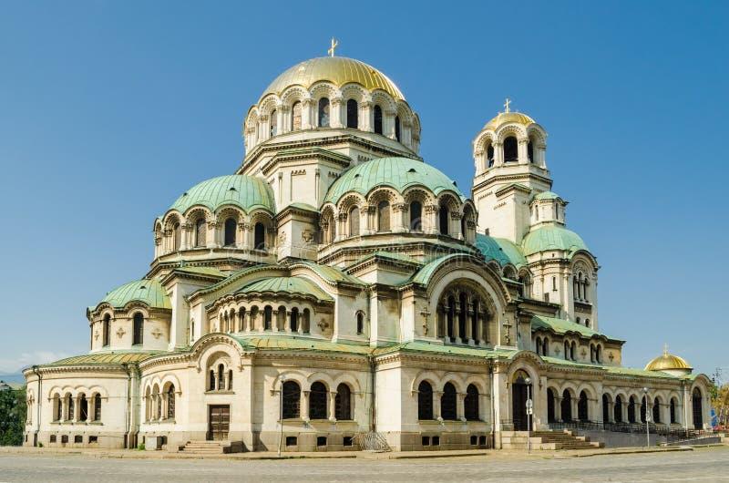 Catedral de Alexander Nevsky, Sofía fotografía de archivo