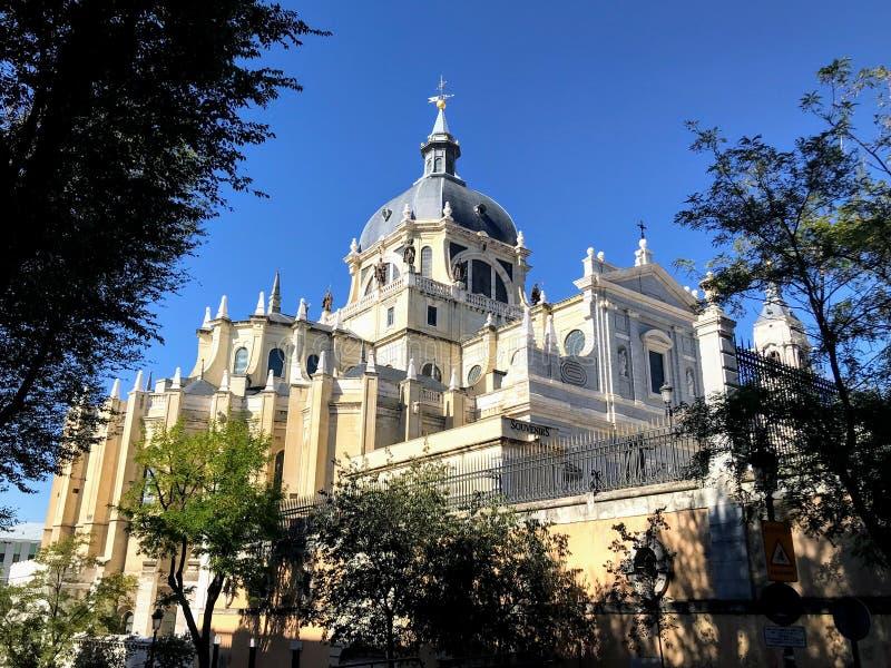 Catedral de Almudena στοκ εικόνα