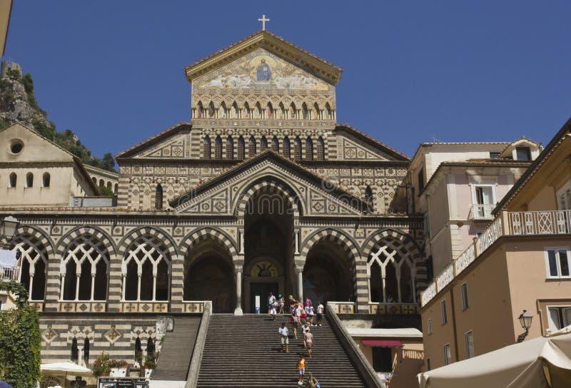 Catedral de Amalfi fotografia de stock royalty free