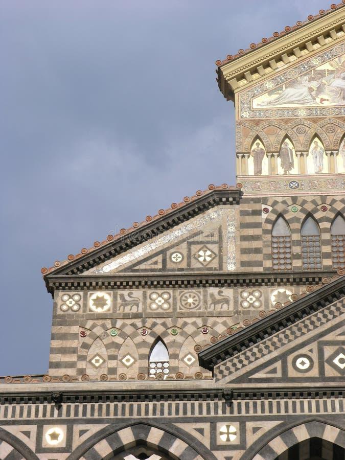 Catedral de Amalfi foto de stock royalty free