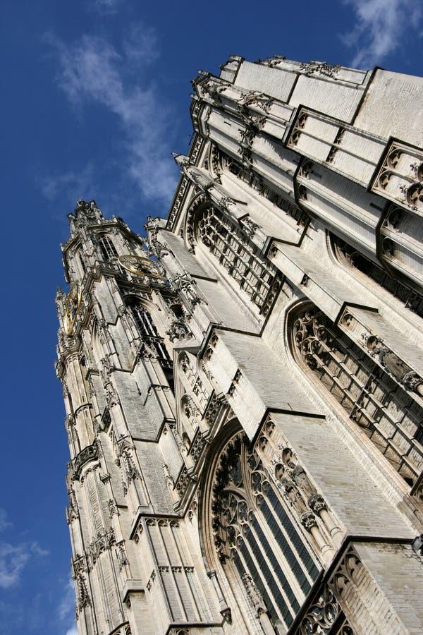 Catedral de Amberes fotos de archivo libres de regalías