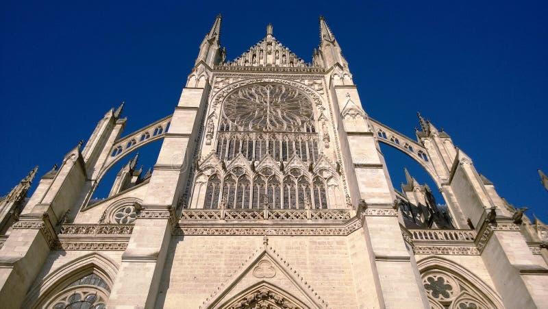 Catedral de Amiens en Picardie imagen de archivo libre de regalías