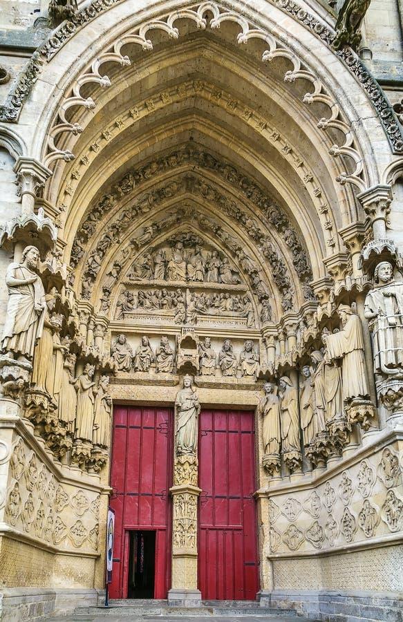 Catedral de Amiens, France fotografia de stock