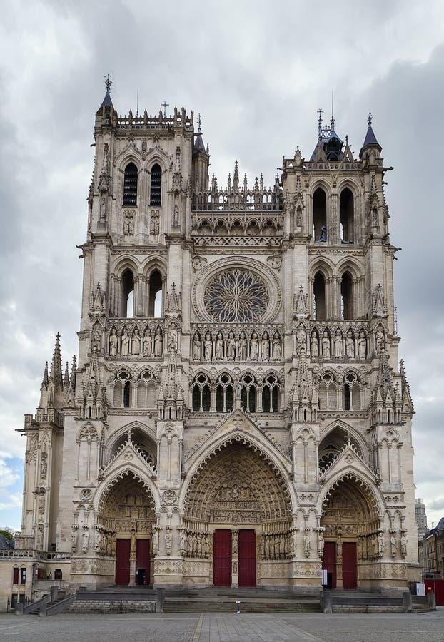 Catedral de Amiens, France fotos de stock royalty free