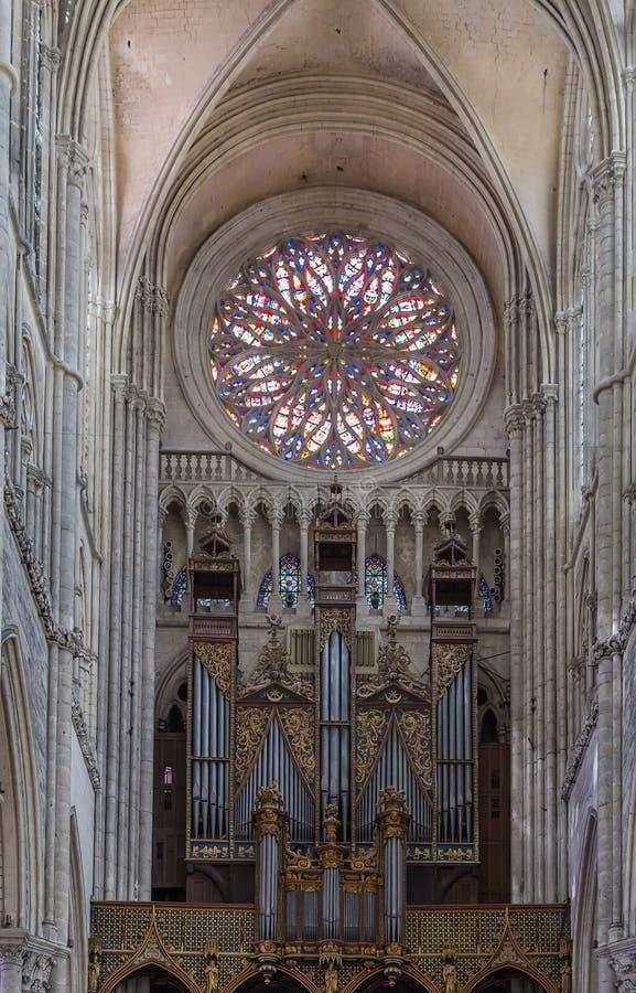 Catedral de Amiens, France imagens de stock royalty free