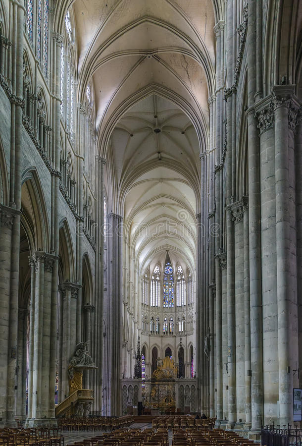 Catedral de Amiens, France foto de stock