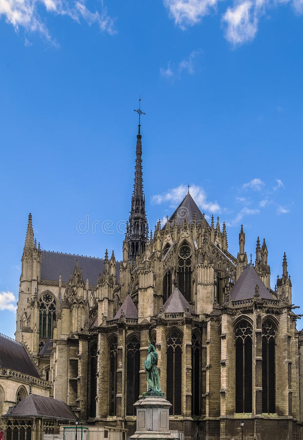 Catedral de Amiens, France foto de stock